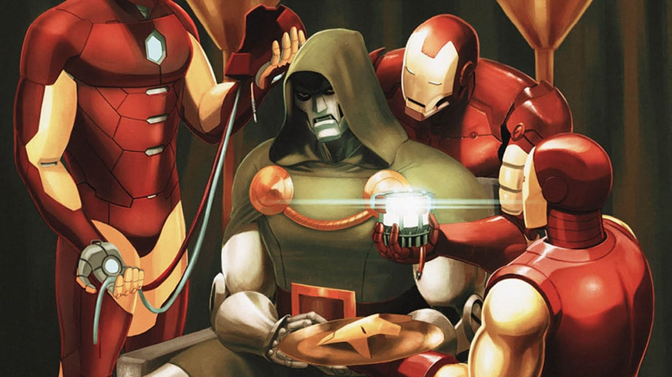 How does Doctor Doom become the Infamous Iron Man?