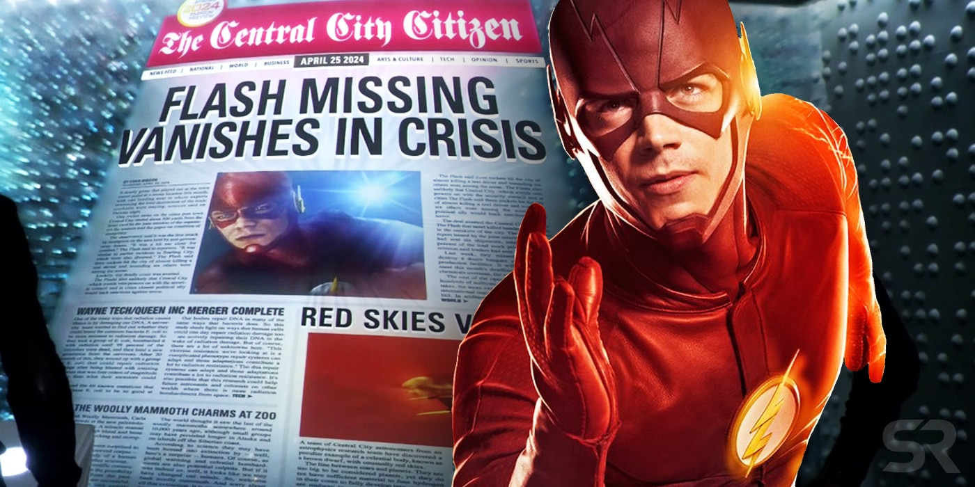 The crisis on Infinite Earths is talked about, by The Flash Showrunner