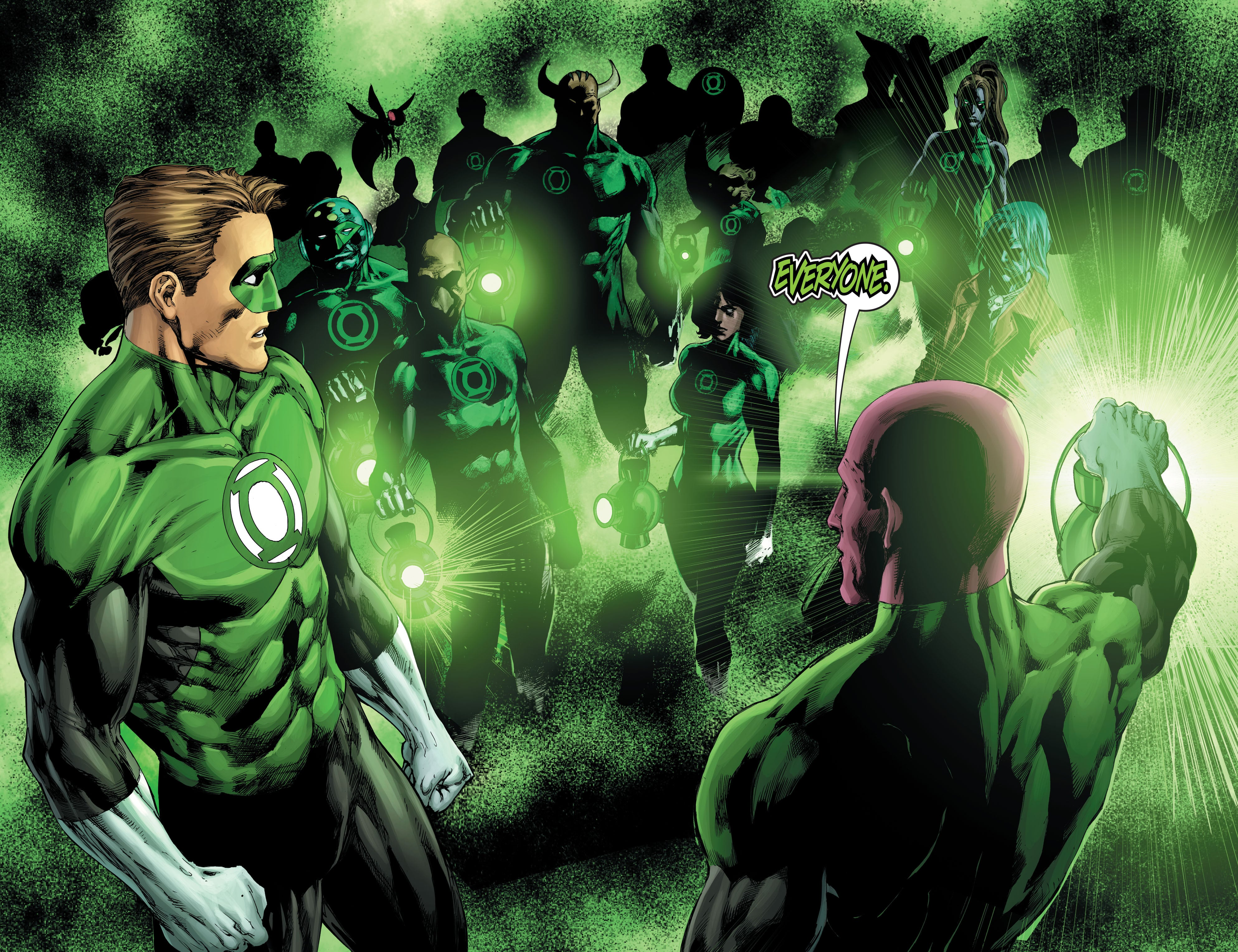 The Green Lantern #10 Teases Quest For The Cosmic Grail.
