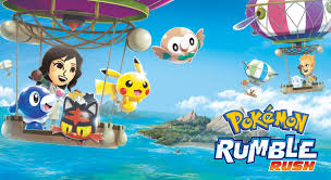Pokemon-Rumble-Rush-Mobile-Game-Umbrella