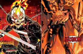 Live-Action Ghost Rider and Helstrom TV Series ordered by Hulu
