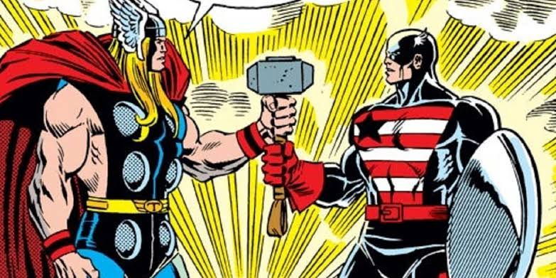 How the dispute between Captain America and Iron Man was resolved by Mjolnir