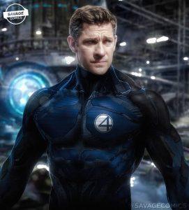 Mr. Fantastic now looks like John Kransanki in Marvel's War of Realms #3