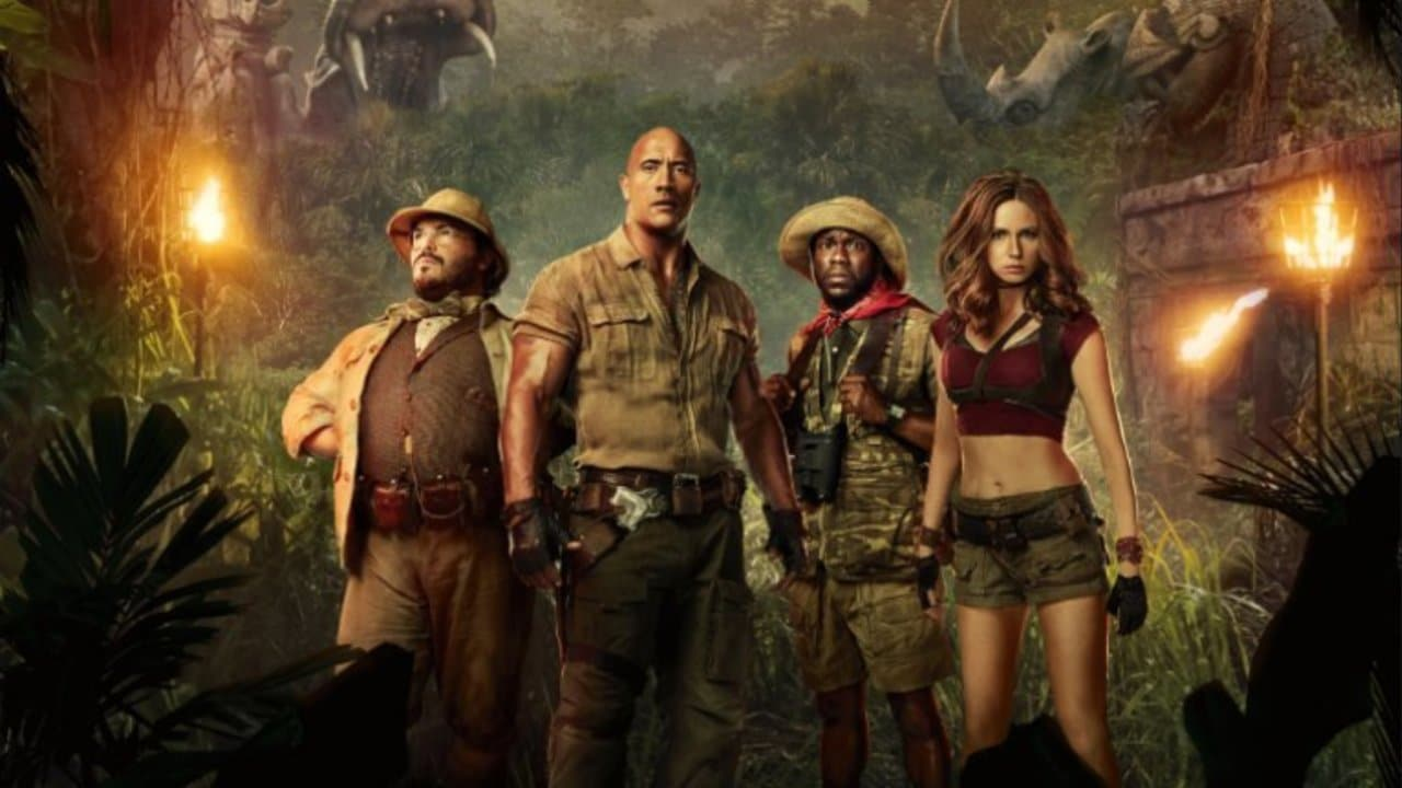 "BTS Jumanji Sequel Photos of a ""Killer Combo"" shared by Dwyane Johnson"