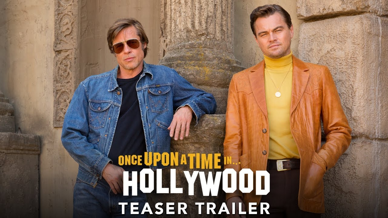 Once Upon A Time In HollyWood Trailer is released now.