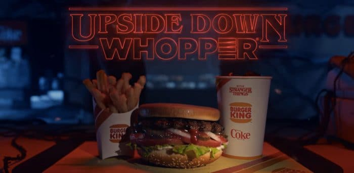 Burger King to Offer Upside-Down Whoppers in Stranger Things Promotion