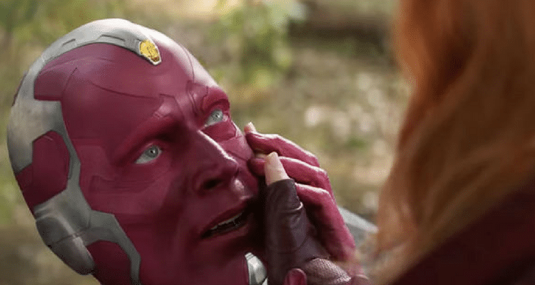 Change of Vision's character till Avengers: Endgame expressed through hilarious meme