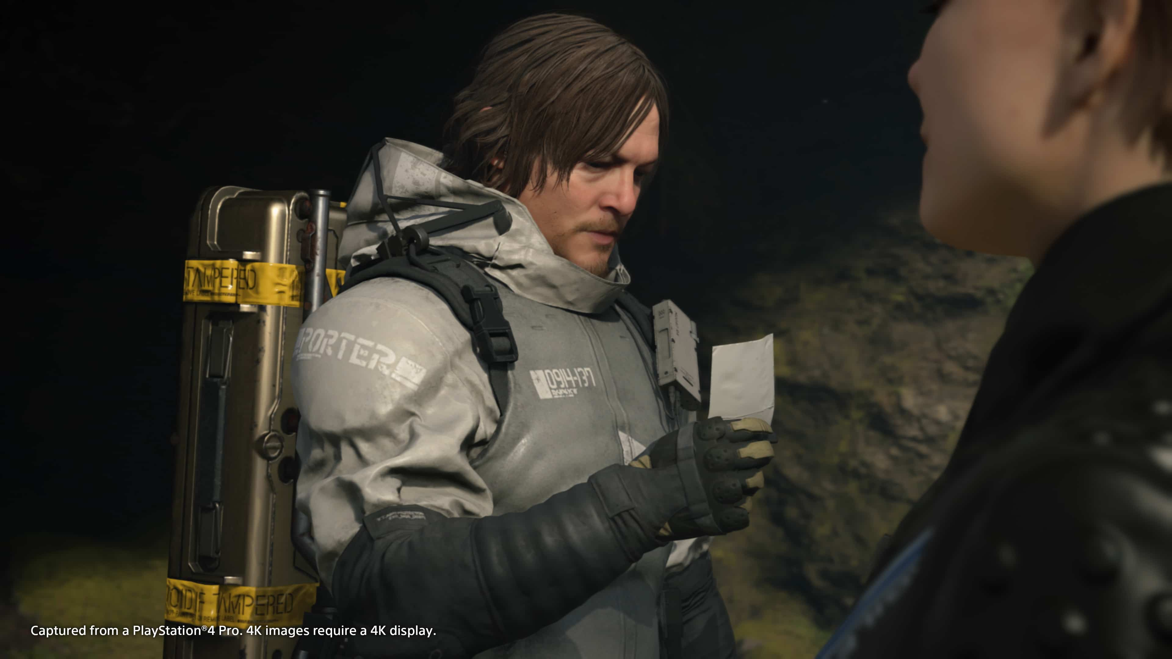 Character's customization can be clearly seen as Death Stranding Cut scenes Happened In real time.