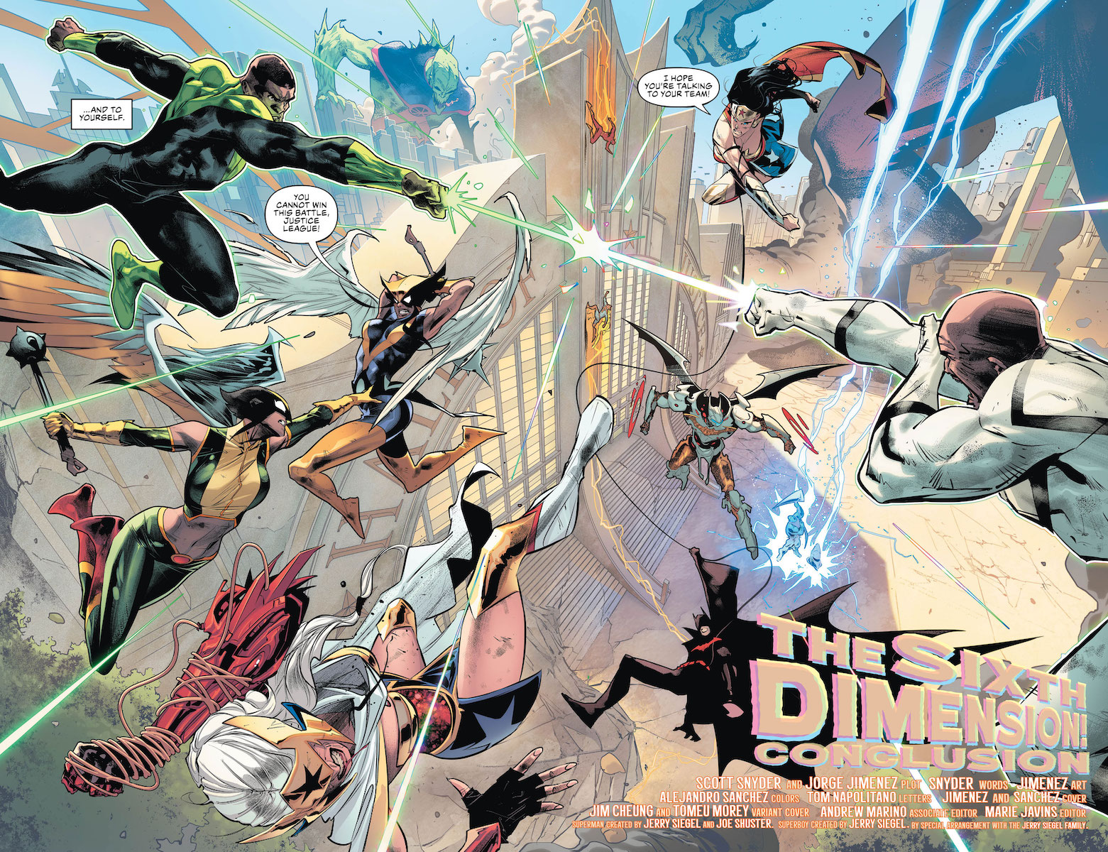 Justice League vs Justice League Battle Teased In Justice League #25 Preview Art
