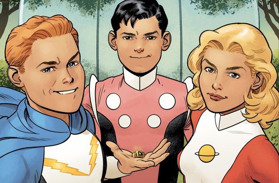 DC releases Legion of Superheroes: Millennium With Brian Michael Bendis & Ryan Sook.