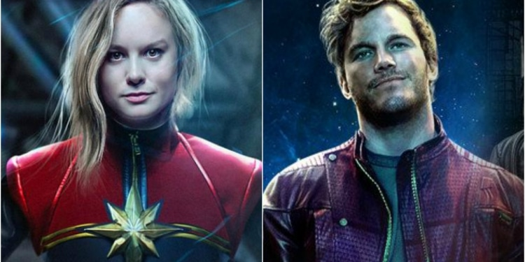Theory States That Captain Marvel And Star Lord Dated Once Upon A Time, But We Are Not So Sure