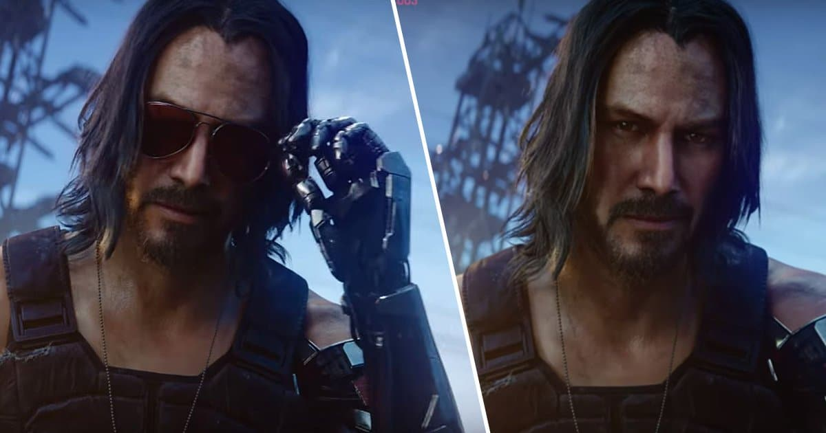 Keanu Reeves is in Cyberpunk 2077