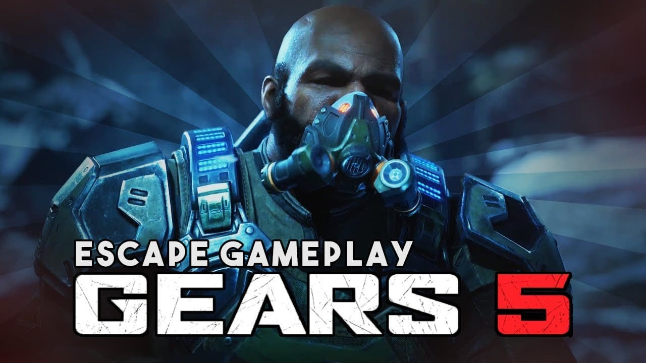 Gears 5 Gameplay Shows Off New Escape Mode