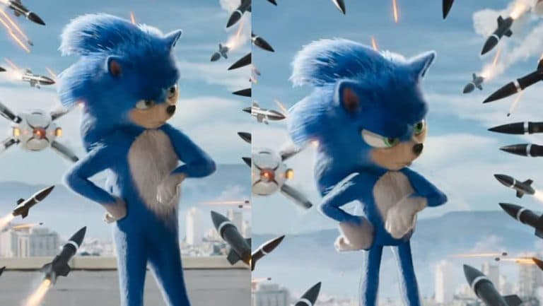 Fan Compares Movie Sonic The Hedgehog S Design With The Original