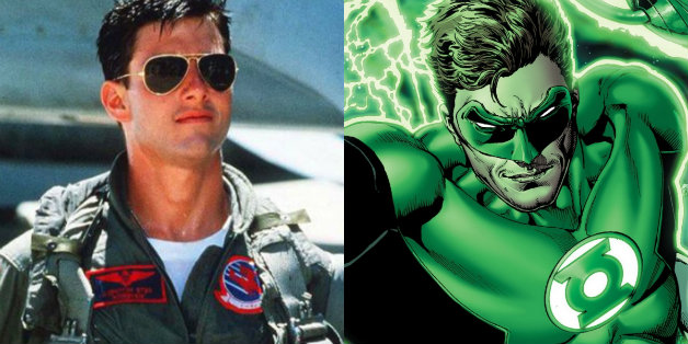 Tom Cruise Suits Up As Hal Jordan/Green Lantern In New released Image