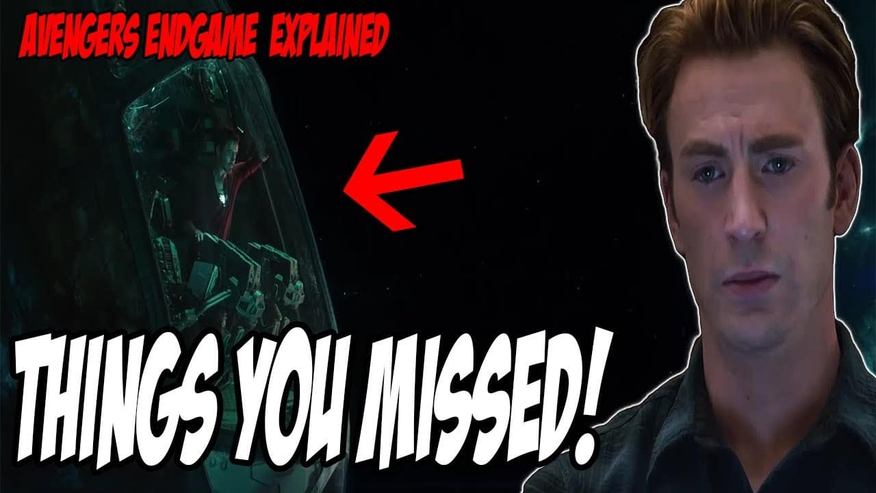 A clue you missed in The Avengers: Endgame
