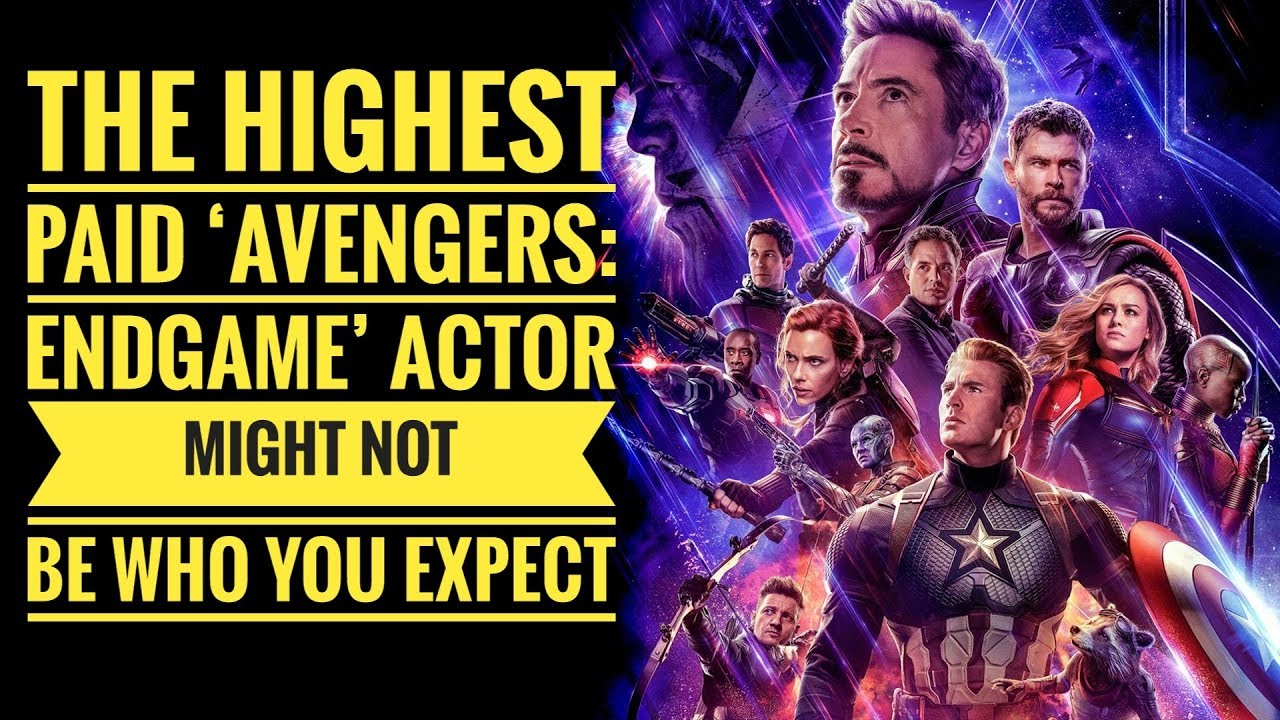 Avengers: Endgame's Highest-Paid Actor Shockingly, Wasn't Robert Downey Jr.