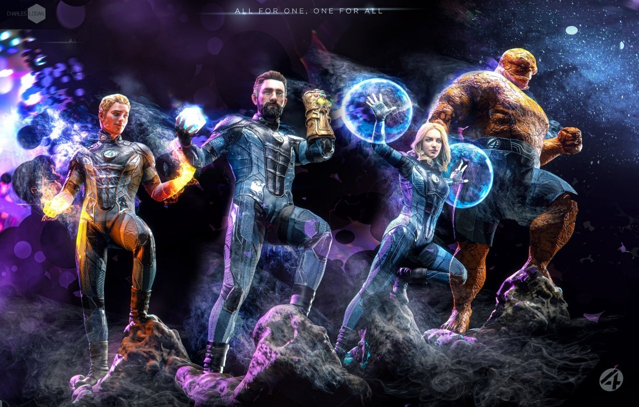 Fantastic Four Fan Art Leaves Fans Excited For The Movie