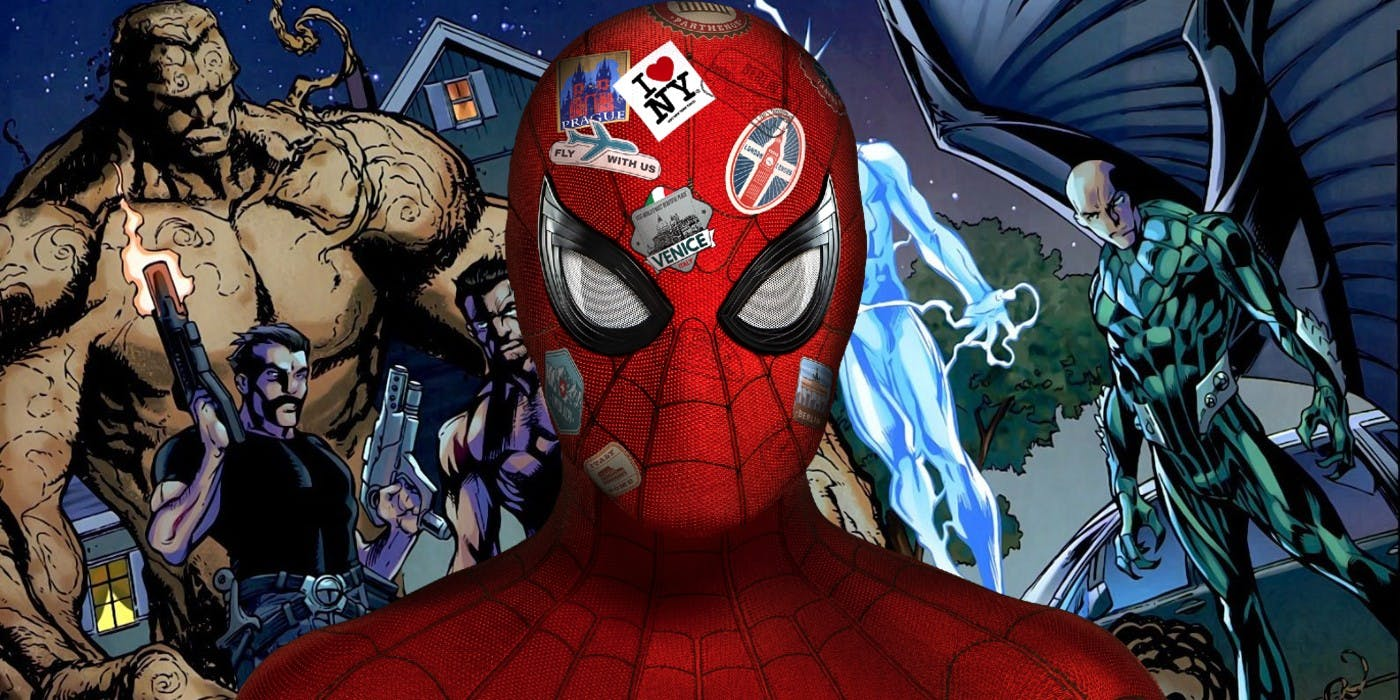 Far From Home Prepares For Spider Man 3 and Sinister Six