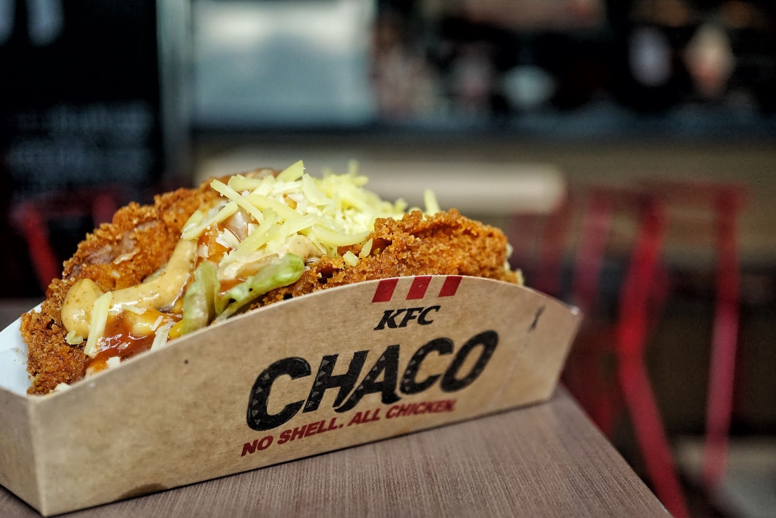 For Tacos, you could even go to KFC now