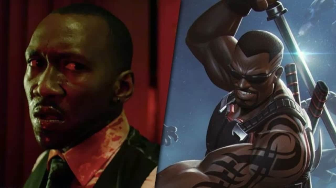 Mahershala Ali S Blade Gets An Epic Fan Made Poster Animated Times