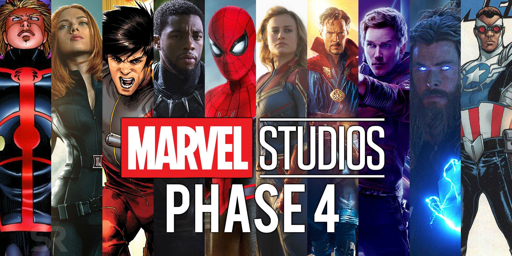 Phase 4 of the MCU May Be Having More Than 5 Films