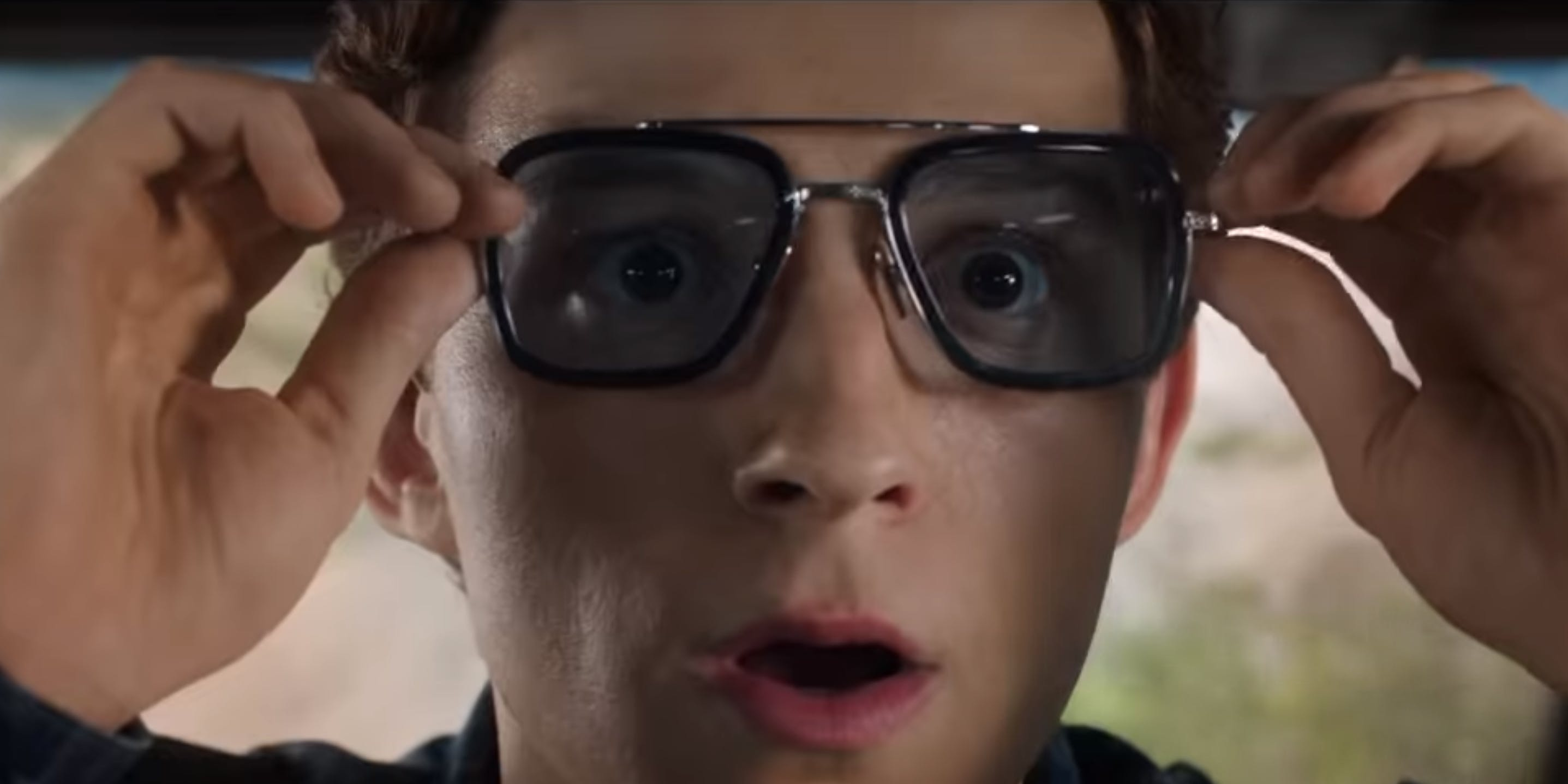 Tony Stark's Sunglasses in Far From Home have Frightening Effects