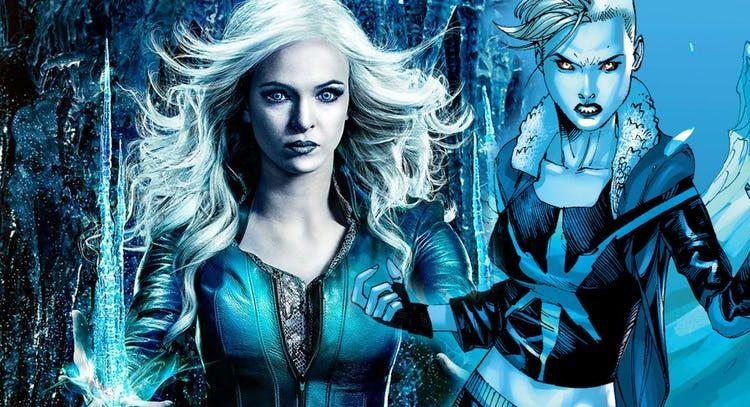The Flash: BTS Photos Reveal Killer Frost's New Comics