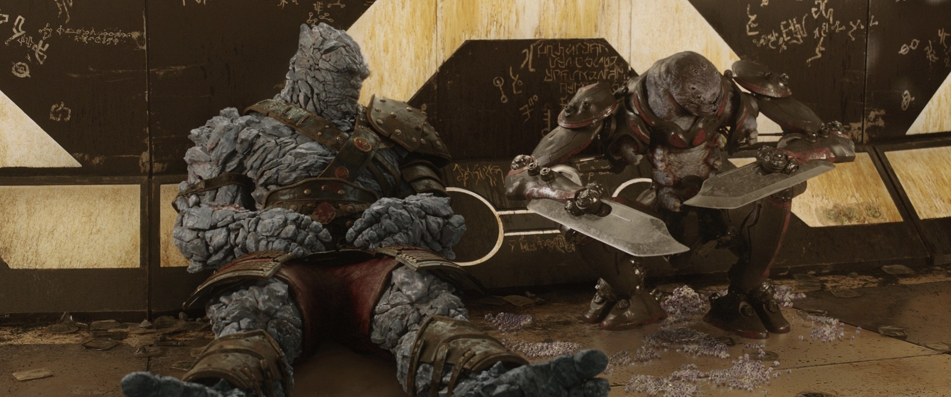 Avengers Endgame Supervisors Desired a Bro Thor, Korg, and Miek Series