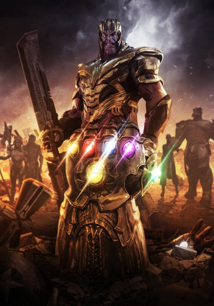 Avengers: Endgame - WHAT? Thanos Let the Avengers Kill Him?