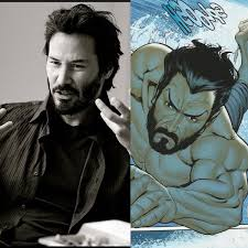 Keanu Reeves as Namor: Marvel artist creates wonder