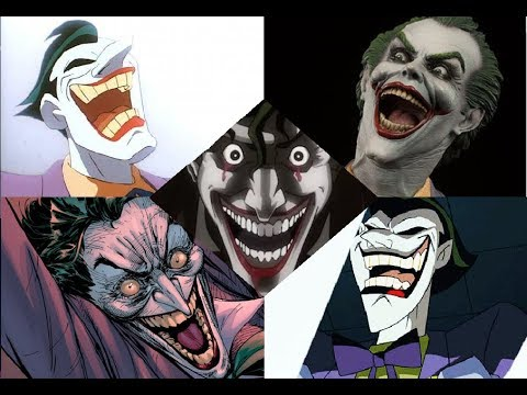 Mark Hamill had, has and will have the best 'Joker Laugh'