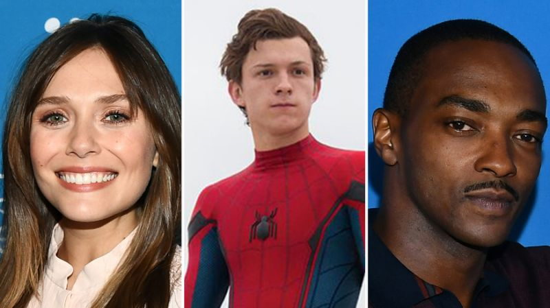 Marvel Stars Anthony Mackie, Sebastian Stan, Elizabeth Oslen and more, are heartbroken over losing Spider-man