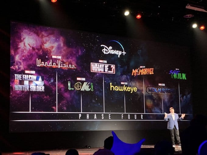 Out with the old and in with the new; Disney plans Phase 4 movies paving itself to Phase 5