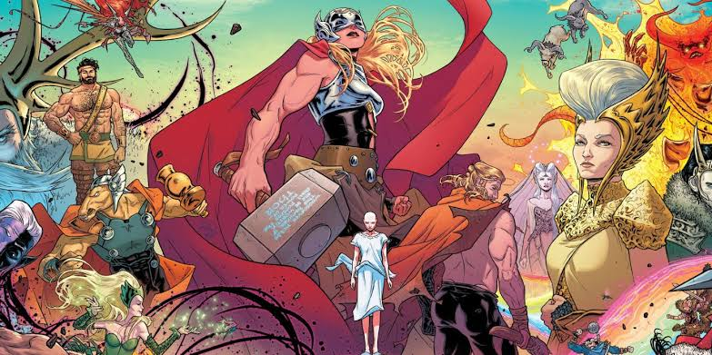 Jason Aaron's The Mighty Thor and beyond works could hint at how a different Jane Foster might arrive. Pic courtesy: screenrant.com