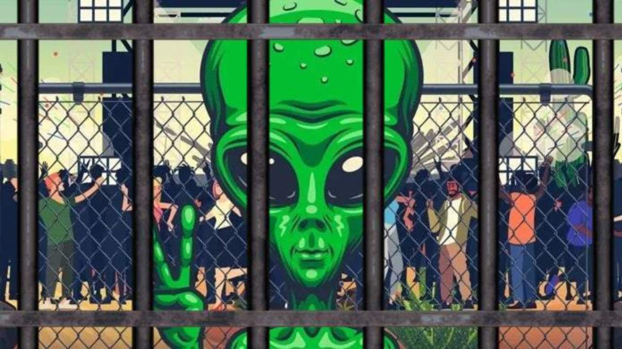 Area 51 Raid 60-Year-Old Woman Lands in TROUBLE As Storms the Gate