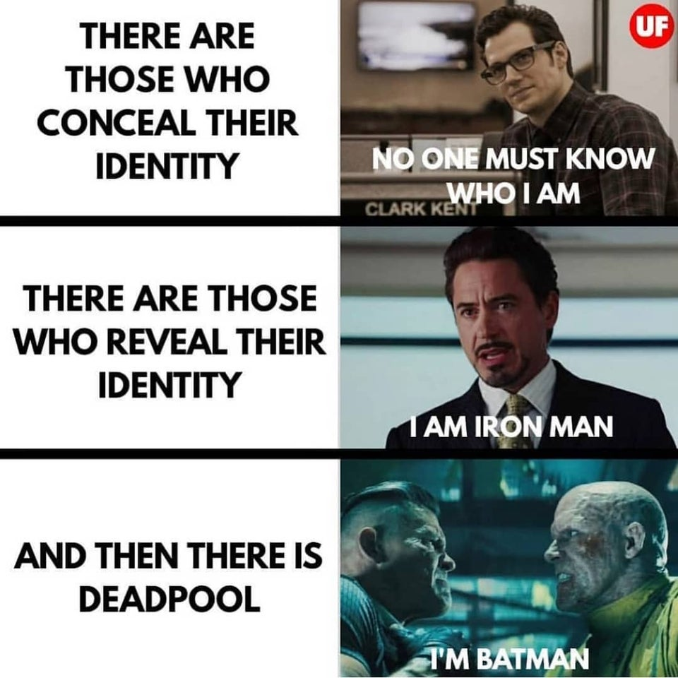 Deadpool's identity in Marvel meme gone viral