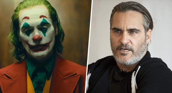 Joaquin Phoenix walks out of JOKER Interview