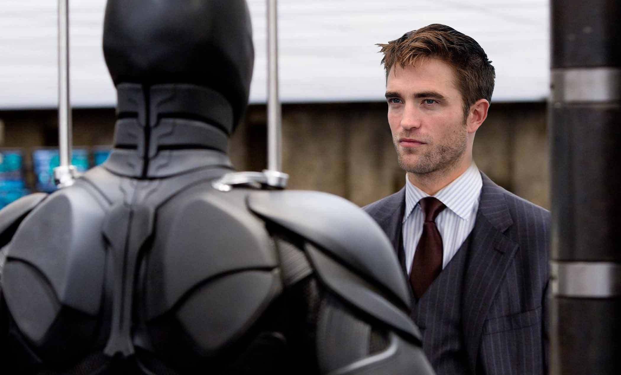 Pattinson tries to Keep up the Suspense on the Batman