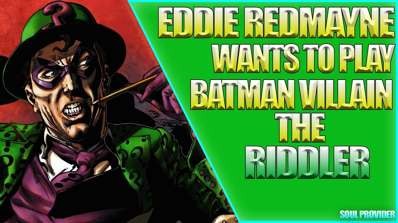 The Riddler wants to join The Batman