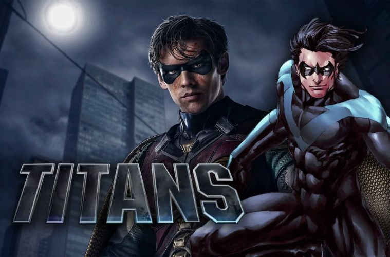 Titans Set Video Shows Nightwing in Action for the First Time