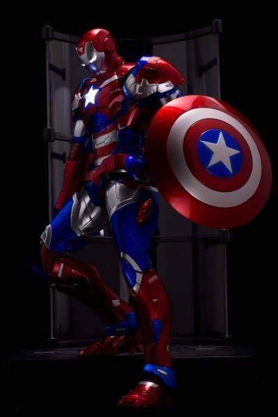 What If Captain America Wore a suit like Iron Man on What If?
