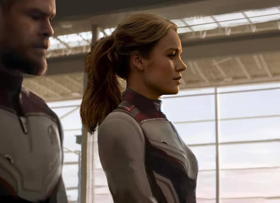 Ever Imagined Cap Marvel In The Quantum Suit?