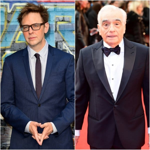 James Gunn defends Marvel movies. Pictured left- James Gunn, Pictured right- Scorsese. Pic courtesy: farmweek.com