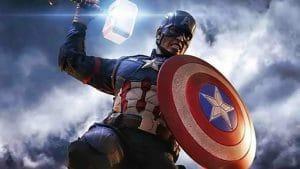 Captain America Lifting the Mjolnir Leaves Chris Hemsworth Fuming