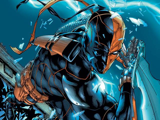 Deathstroke is the arch enemy of the Titans, especially Dick Grayson