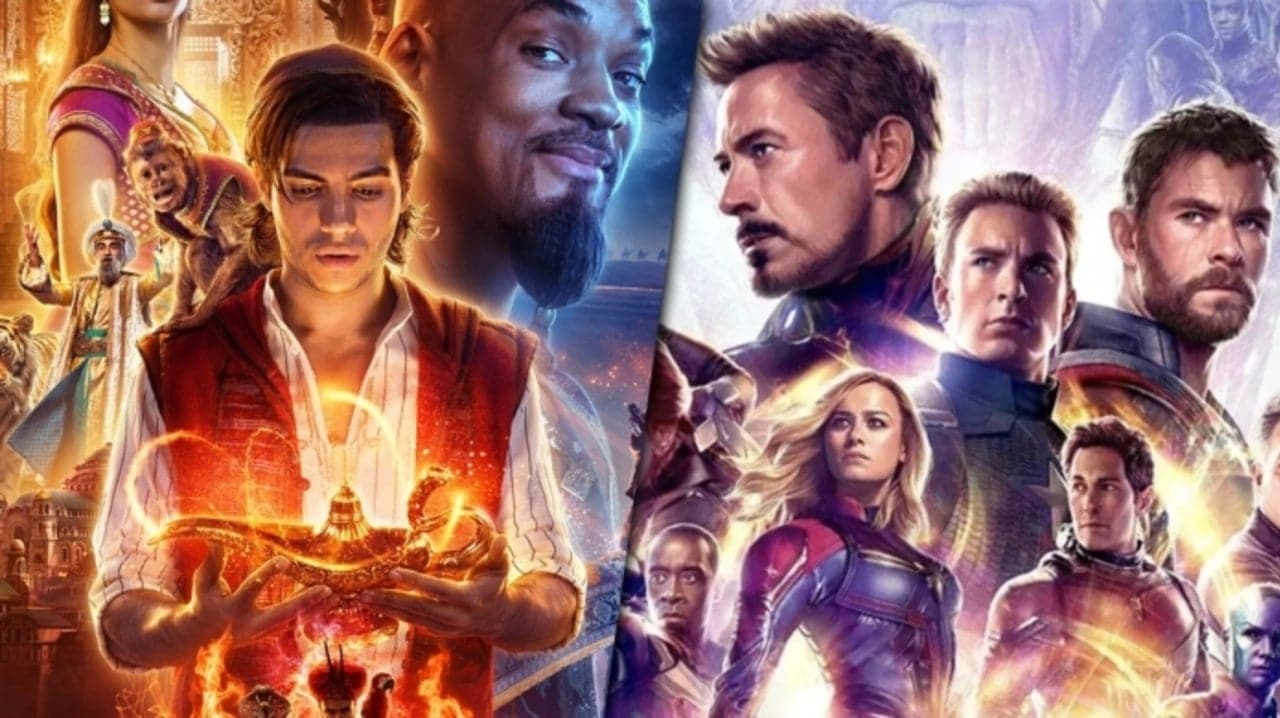 Avengers Endgame Record Beaten by Aladdin
