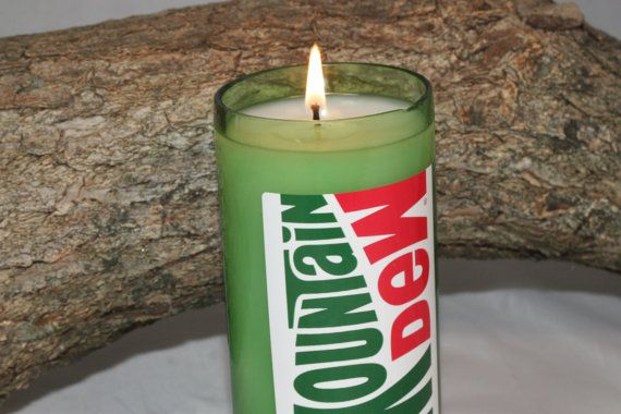 Mountain Dew Scented Candle