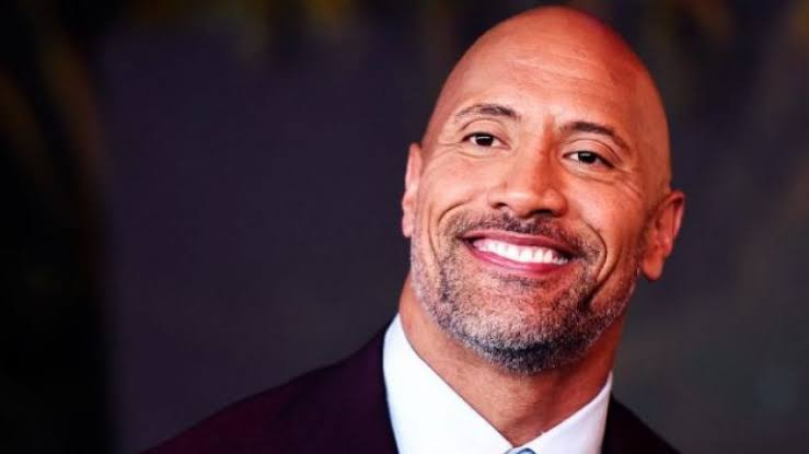 Dwayne Johnson Smiling