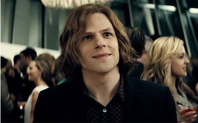 Jesse Eisenberg probably won't be able to return to the DCEU again. Pic courtesy: ew.com